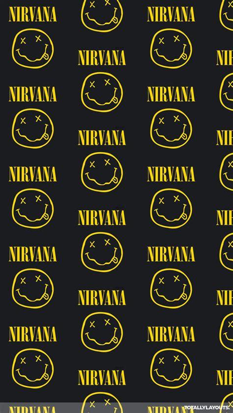 wallpaper iphone nirvana nirvana logo iphone wallpaper music wallpapers