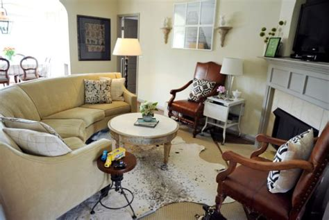 cowhide rug living room cowhide rugs and a few ways of using them in your interior
