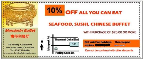 coupons for mandarin buffet coupons for mandarin buffet 28 images mandarin restaurants canada day promotion canadian
