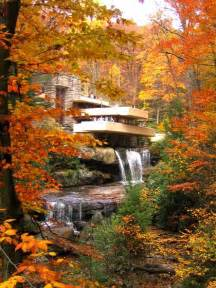 Lloyd Wright S Fallingwater Mill Run Pa Great Room Dining Area » New Home Design