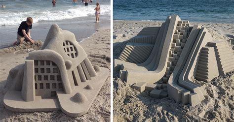 calvin seibert 20 brutalist sandcastles by calvin seibert
