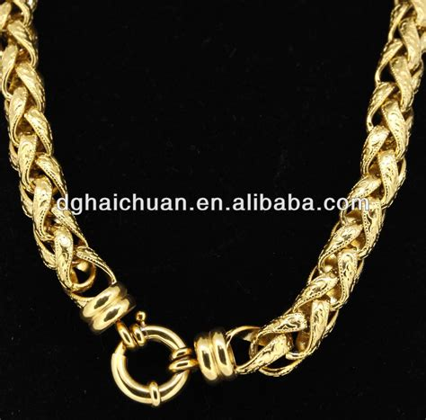 New Trend 24k Gold Nersels Designer Trendy Gold Jewelry by 2018 Gold Chain Designs 24k Gold Plated Solid Heavy