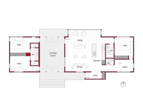 dogtrot house plans cottage house plans