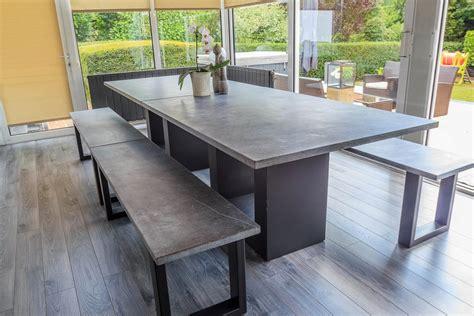 table haute table haute en bleue acier jeliodesign