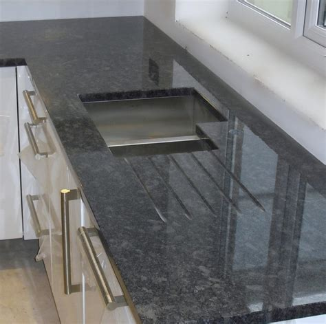 steel gray granite countertops with white cabinets steel grey granite worktops contemporary manchester uk