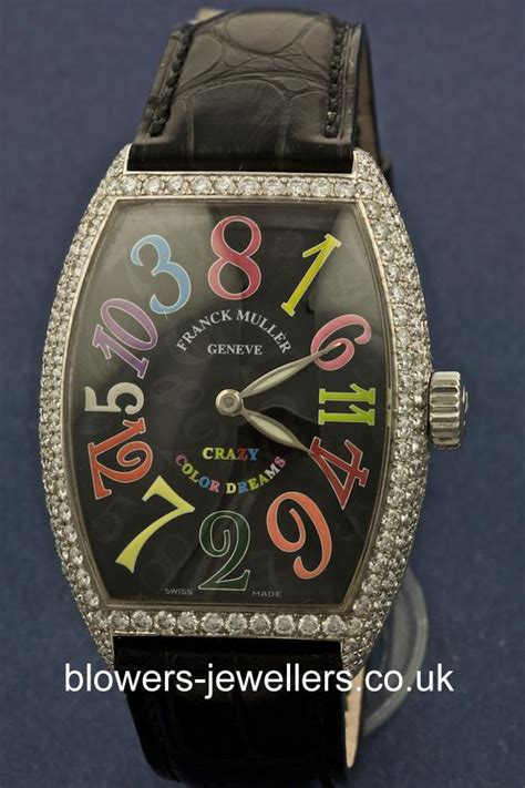 Franck Muller Infinity Colour Dreams White 18ct white gold franck muller color dreams hours 7851 ch