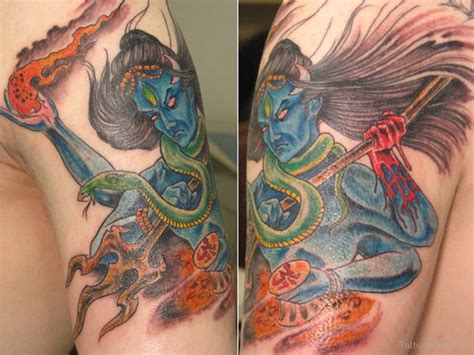 angry lord shiva tattoo designs shiv tattoos designs pictures page 4