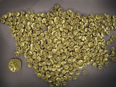 Find In Germany File Celtic Find Of Golden Coins In Manching In Germany Jpg Wikimedia Commons