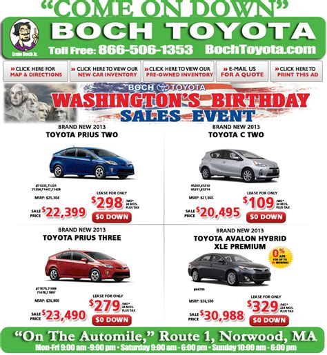 Boch Toyota Norwood Ma Boch Toyota Hybrids On The Automile In Norwood Ma