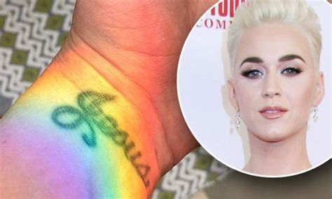 katy perry jesus tattoo katy perry flashes jesus on wrist on easter