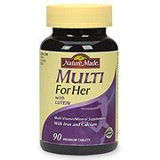 Wellness Multi 30tabs nature made multi for multi vitamins minerals for