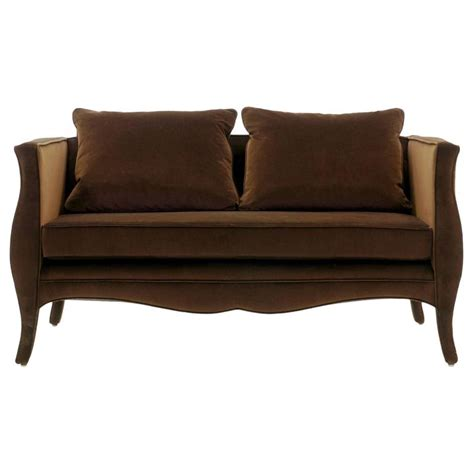 New Settees Richard Himmel Lutece Settee For Sale At 1stdibs