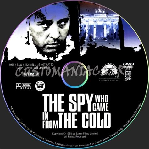 the spy who came the spy who came in from the cold dvd label dvd covers labels by customaniacs id 55866