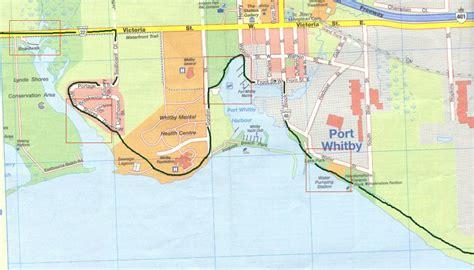 Stop Mapart Stop Map bike trip niagara falls july 2001 day 8
