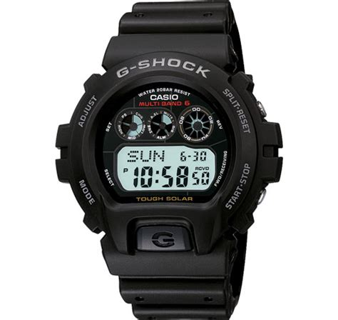 casio s g shock atomic solar digital sport gw6900 1