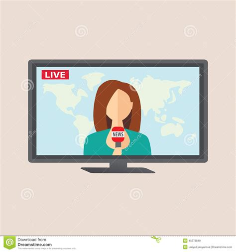 news live tv tv broadcast clipart clipground