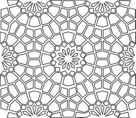Psychedelic Wall Murals islamic pattern project dana krystle s online portfolio