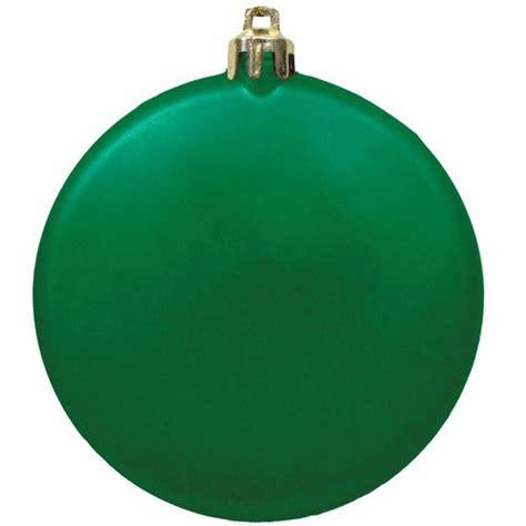 flat round shatterproof ornaments custom christmas
