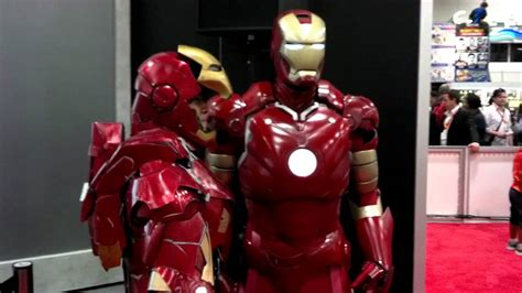 san diego comic awesome iron man cosplay youtube
