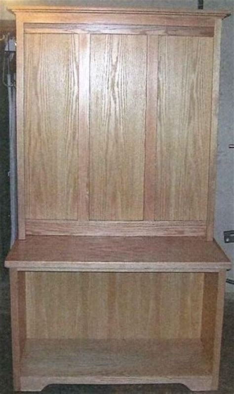 kelly s chic decor h3300 902 entryway bench with coat rack coat rack bench seat shoe cubby thing in oak lol by