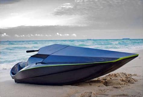 jet design green samba an electric carbon fiber jet ski design is