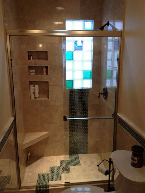 glass block bathroom ideas colored glass blocks innovate building solutions