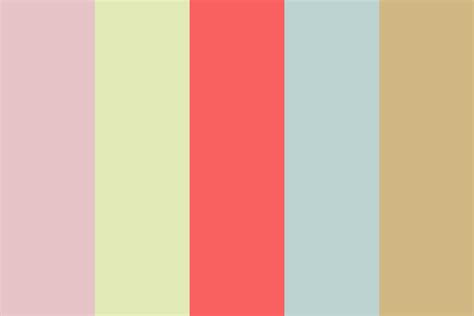 light retro color palette