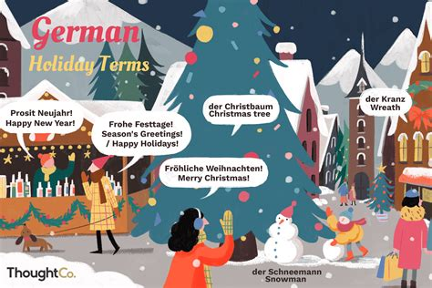 traditional holiday terms  german