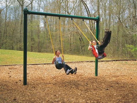 play ground swings swings mile high play systems
