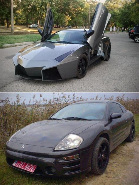 Mitsubishi Eclipse Lamborghini Auto Enthusiast From Ukraine Transforms Mitsubishi Eclipse