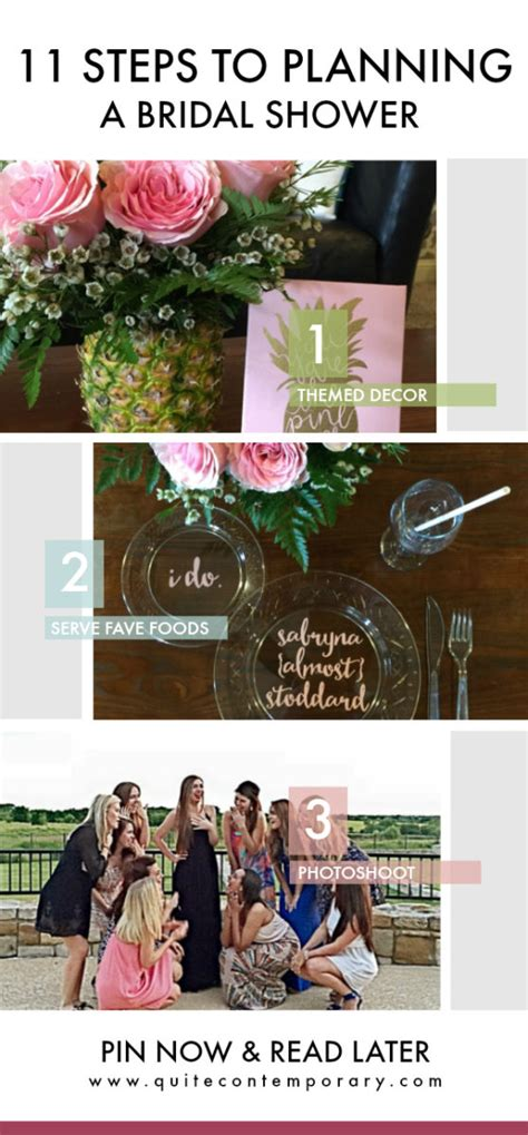 how to plan a bridal shower quite contemporary