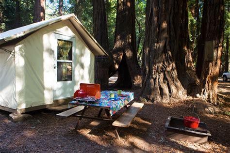 Tent Cabins In California by Tent Cabin Cing Fernwood Cground Resort Big
