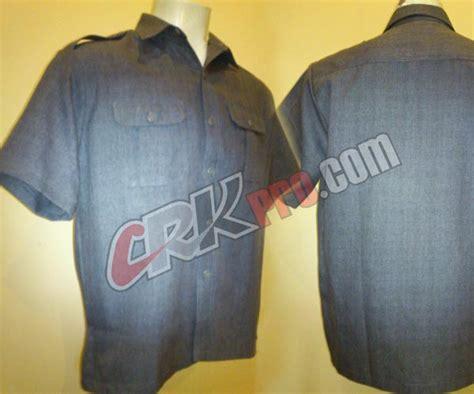 desain kemeja safari seragam safari baju pakaian dinas security satpam pns pol pp