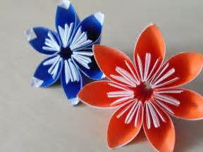 Easy Origami Paper Flowers - simple origami flowers by revenia on deviantart