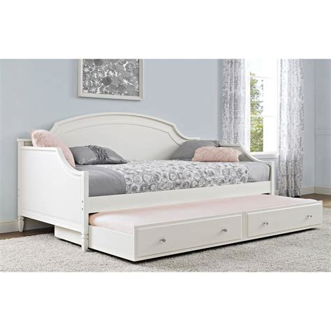 trundle bed for girls better homes and gardens lillian twin daybed white