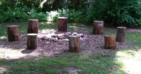 build pit around tree stump the at fireplacemall