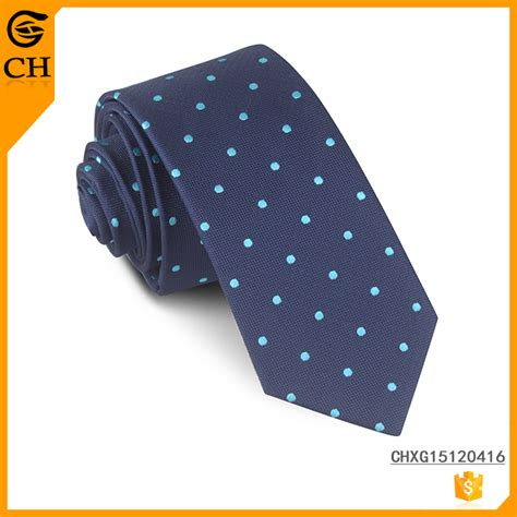blue 100 silk necktie custom tie woven printing logo