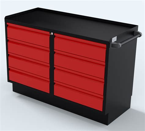 Drawer Set by 48 Inch Two Sets Of 4 Drawer Professional Grade Cabinet