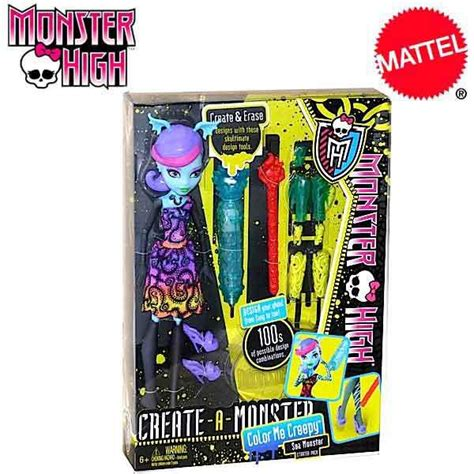 monster high doll design games monster high create a monster color me creepy sea monster