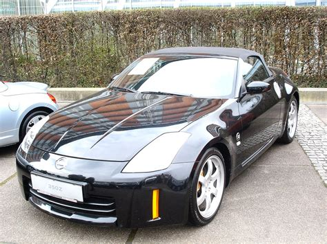 convertible nissan 350z nissan 350z convertible modified