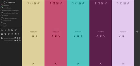 find color inspiration in 21 apps