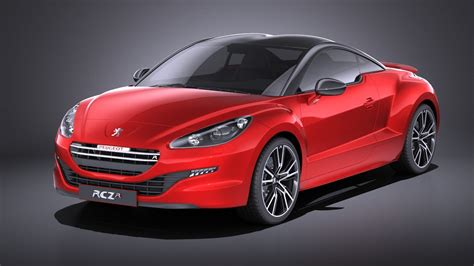 peugeot 2015 models 3d 2015 peugeot rcz model turbosquid 1202517