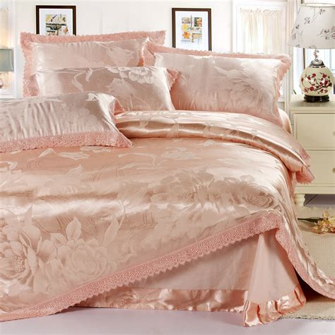 european size bed linen s v european style luxury bedding set 100 cotton satin