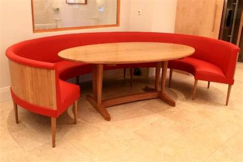 round dining table bench the interior design inspiration