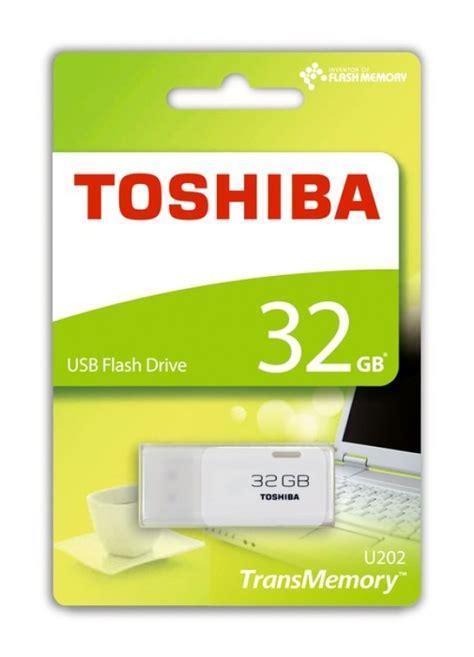 Usb Toshiba 32gb toshiba 32gb transmemory u202 usb flash drive white ebuyer