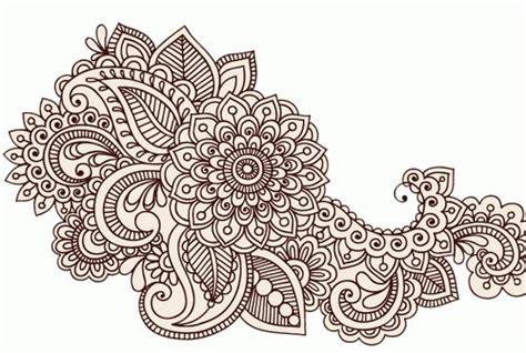 flower pattern mehndi flower henna tattoo designs tattoos pinterest