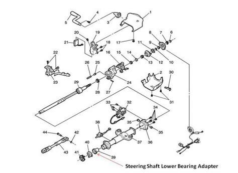 chevy truck steering column diagram 63 chevy c10 steering column diagram 63 free engine