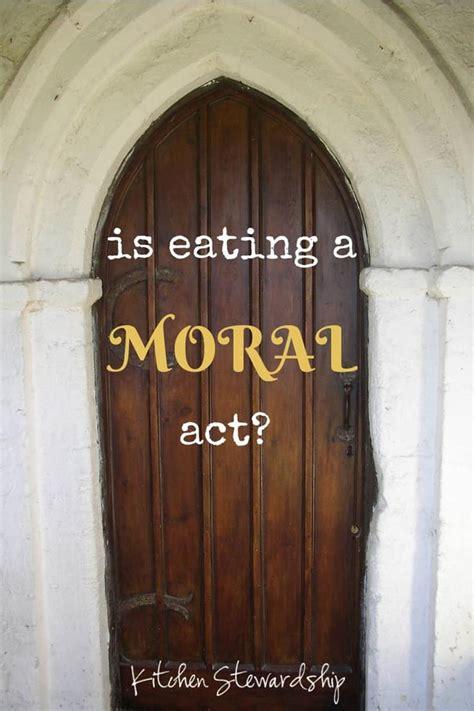 ethics  food