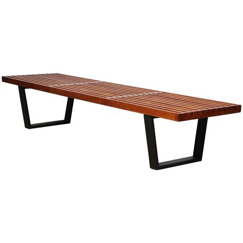 herman miller nelson bench george nelson for herman miller platform bench at 1stdibs