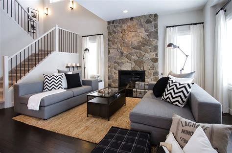casual living rooms monochrome and natural shades living area pinterest